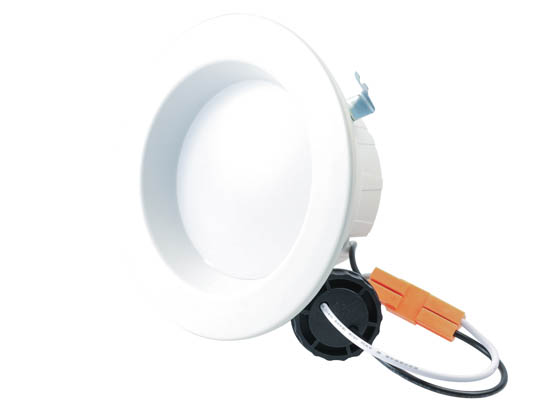 "Halco Lighting 99635 DL4FR10/940/ECO/LED2 Halco Dimmable 10W 4000K 4"" Recessed LED Downlight, JA8 Compliant"