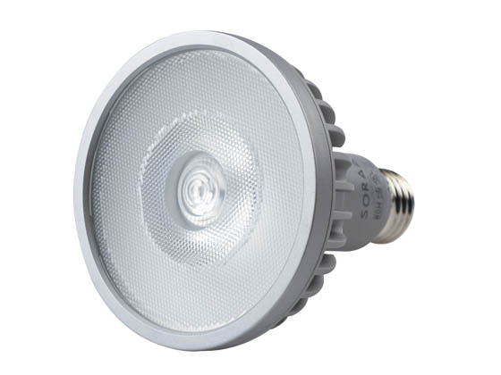 SORAA 00783 SP30L-18-36D-930-03 Soraa Dimmable 18.5W, 120V, 95 CRI, 3000K, JA8 Compliant, Enclosed Fixture Rated 36° PAR30/L LED Bulb, Medium Base