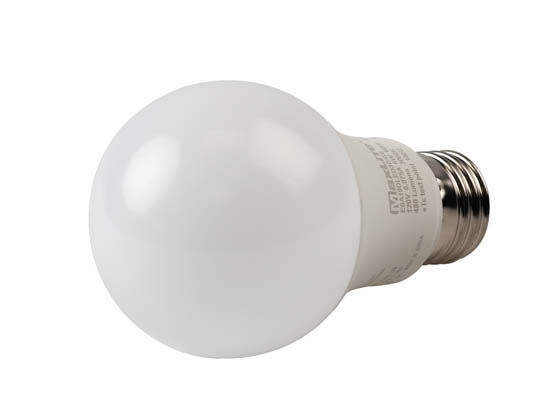 MaxLite 14099392 E6A19DLED30/G6 Maxlite Dimmable 6W 3000K A19 LED Bulb, Enclosed Rated