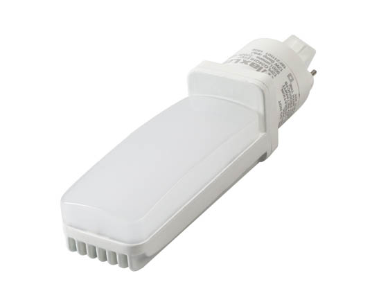 MaxLite 1408684 12PLG24QHLED27 Maxlite 12W 4 Pin Horizontal 2700K G24q LED Bulb, Uses Existing Ballast