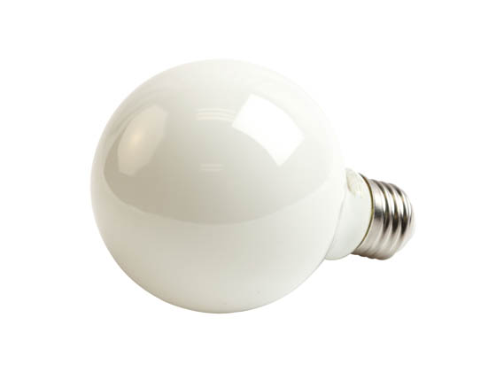 Bulbrite 776611 LED7G25/27K/FIL/M/3 Dimmable 7W 2700K G25 Filament LED Bulb, Enclosed and Wet Rated