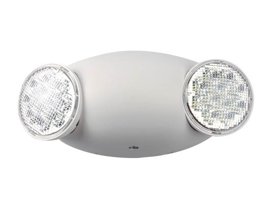 Emergi-Lite EL-2LED Dual Head LED Emergency Light with Battery Backup