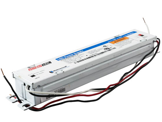 Everline L12V60UNV-A000C Universal 12 Volt 60 Watt Class 2 Constant Voltage LED Driver
