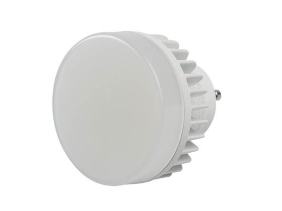 MaxLite 76910 10CPUAGULED30 Non-Dimmable 10W 3000K 120-277V LED Puck Bulb, Enclosed and Wet Rated, GU24 Base
