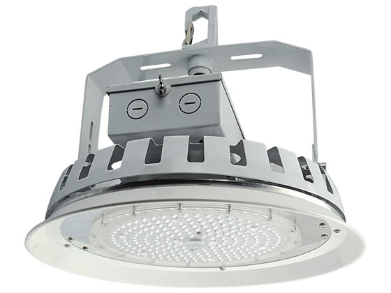 NaturaLED 7696 LED-FX16HBR100/90/840 Dimmable 100 Watt 4000K Round LED High Bay Fixture