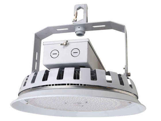 NaturaLED 7699 LED-FX16HBR162/90/850 Dimmable 162 Watt 5000K Round LED High Bay Fixture