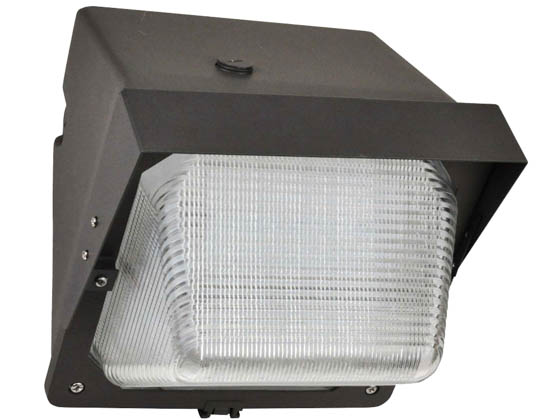 NaturaLED 7756 LED-FXTWP28/30K/DB Dimmable 175 Watt Equivalent, 28 Watt Forward Throw LED Wallpack Fixture, 3000K