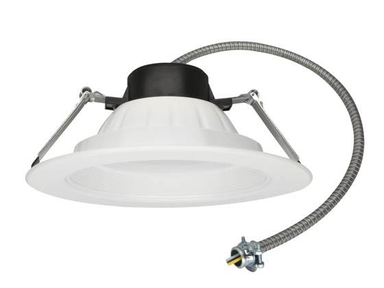 "MaxLite 14099583 RCF81335W 13 Watt, 3500K, 120-277V, 8-10"" LED Recessed Downlight"