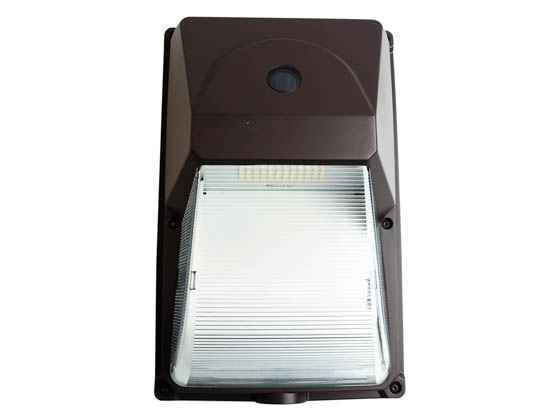 MaxLite 101552 SEC15U50BPC 70 Watt Equivalent, 15 Watt 5000K LED Entry Wallpack Security Fixture With Photocell