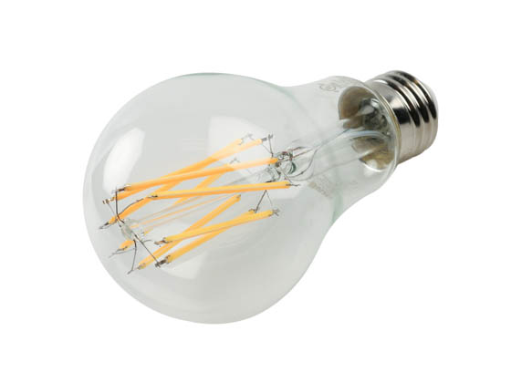 Bulbrite 776615 LED11A21/27K/FIL/3 Dimmable 11W 2700K A21 Filament LED Bulb, Enclosed and Wet Rated