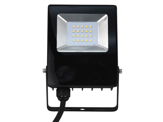NaturaLED 7761 LED-FXFDL10/50K/BK 10 Watt, 100 Watt Equivalent, 5000K LED Flood Light Fixture