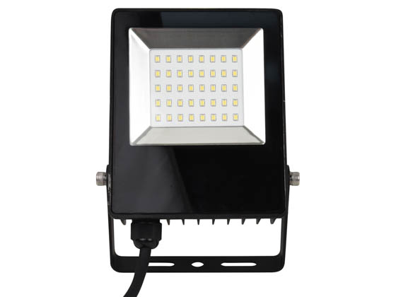 NaturaLED 7762 LED-FXFDL20/50K/BK 20 Watt, 150 Watt Equivalent, 5000K LED Flood Light Fixture