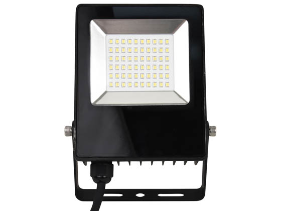 NaturaLED 7763 LED-FXFDL27/50K/BK 27 Watt, 150-200 Watt Equivalent, 5000K LED Flood Light Fixture