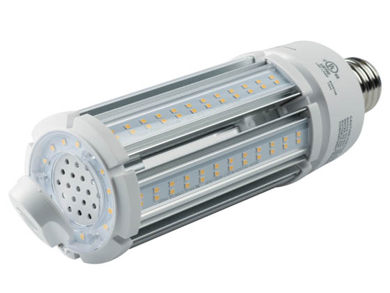 Satco Products, Inc. S8988 63W/LED/HID/3K/MS/100-277V Satco Non-Dimmable 63 Watt Hi-Pro LED Retrofit Lamp, 3000K, Ballast Bypass With Motion Sensor