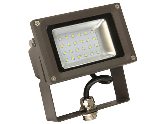 MaxLite 100567 FLS20U40B/G2 Maxlite 150 Watt HID Equivalent, 20 Watt 4000K LED Flood Light Fixture