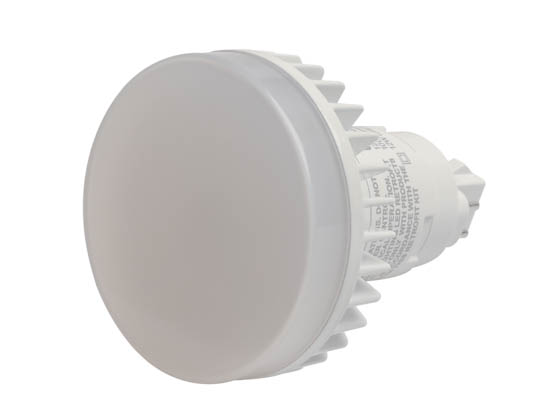 MaxLite 1408688 12PLG24QVLED35 Maxlite Non-Dimmable 12W 4 Pin Vertical 3500K G24q LED Bulb, Uses Existing Ballast