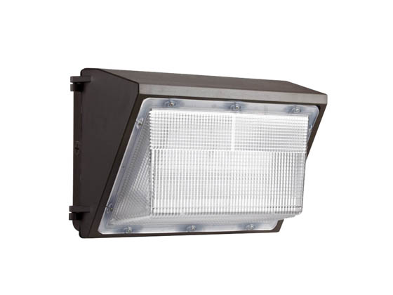Value Brand MWP0865W27V50KDP0 65 Watt, 250 Watt Equivalent 5000K Forward Throw LED Wallpack Fixture with Photocell
