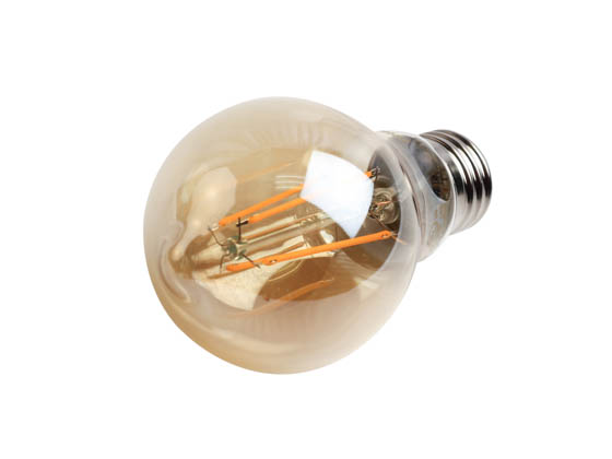 Philips Lighting 537563 4.5A19/VIN/820/E26/CL/GL/DIM Philips Dimmable 4.5W 2000K Vintage A19 Filament LED Bulb, Outdoor Rated