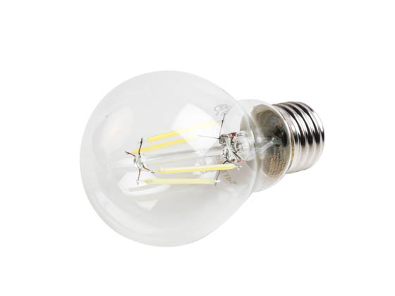 Philips Lighting 478636 6A19/PER/850/CL/G/DIM Philips Dimmable 6 Watt 5000K A19 Filament LED Bulb