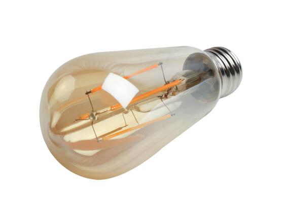 Bulbrite Dimmable 7w 2200k Vintage St18 Filament Led Bulb