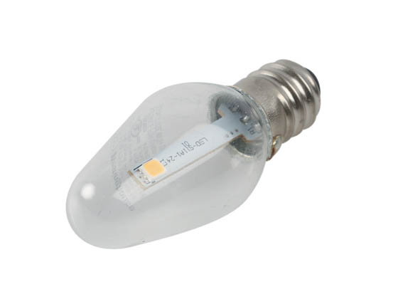 C7 Led Bulb >> Westinghouse Non Dimmable Clear 0 75w C7 Night Light Led Bulb