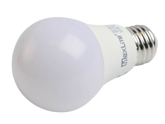 MaxLite 102607 E9A19NDV50 Maxlite Non-Dimmable 9W 5000K A19 LED Bulb, Enclosed Fixture Rated