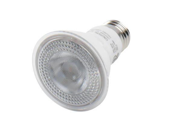 90+ Lighting SE-RCD11.1407G Dimmable 7 Watt 2700K 40 Degree 90 CRI PAR20 LED Bulb, JA8 Compliant, Enclosed and Wet Rated