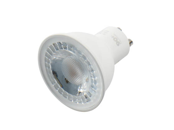 90+ Lighting SE-350.006 Dimmable 7W 3000K 40 Degree 93 CRI MR16 LED Bulb, GU10 Base, JA8 Compliant, Enclosed Rated