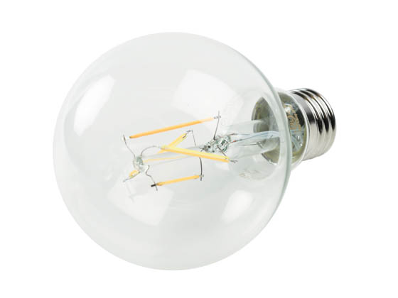 Philips Lighting 549352 2.7G25/PER/927-922/CL/G/E26/WGX T20 Philips Dimmable 2.7W Warm Glow 2700K-2200K 90 CRI Filament G25 Globe LED Bulb, Title 20 Compliant, Wet Rated