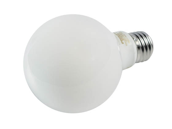 Philips Lighting 549535 5.5G25/PER/927-922/FR/G/E26/WGX1FB T20 Philips Dimmable 5.5W Warm Glow 2700K-2200K 90 CRI G25 Globe LED Bulb, Title 20 Compliant, Wet Rated