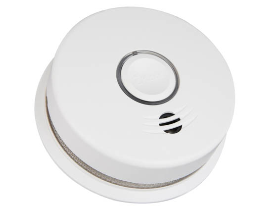 Kidde P4010DCS-W 21027308 Wire-Free Interconnected Battery Powered Smoke Alarm With 10-Year Sealed Battery
