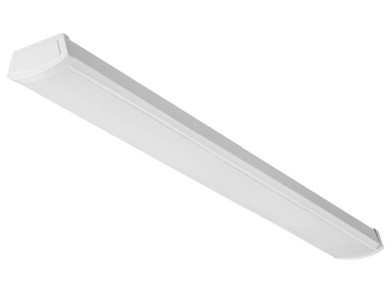 Lithonia Lighting 226LWW FMLWL 48 840 Lithonia FMLWL Non-Dimmable LED 40W, 120V 48'' 4000K Flush Mount Wrap, 2900 Lumens