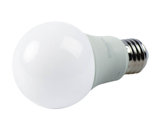 MaxLite 14099401-7 E11A19DLED40/G7 Maxlite Dimmable 11W 4000K A19 LED Bulb, Enclosed Fixture Rated