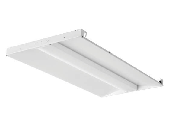 Lithonia Lighting 2515TN BLC 2X4 5000LM 40K Lithonia Contractor Select BLC Dimmable 2x4 LED Center Basket, 4000K