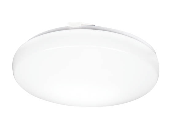 "Lithonia Lighting 216CMA FMLRL 14 20840 M4 Lithonia Flush Mount 14"" Round Dimmable LED 24W, 120V, 4000K, White"