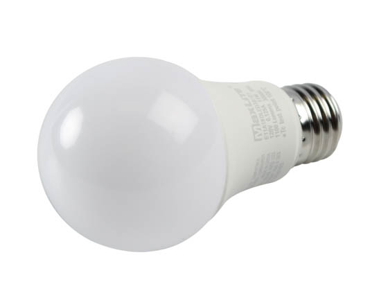 MaxLite 14099400-7 E11A19DLED30/G7 Maxlite Dimmable 11W 3000K A19 LED Bulb, Enclosed Rated