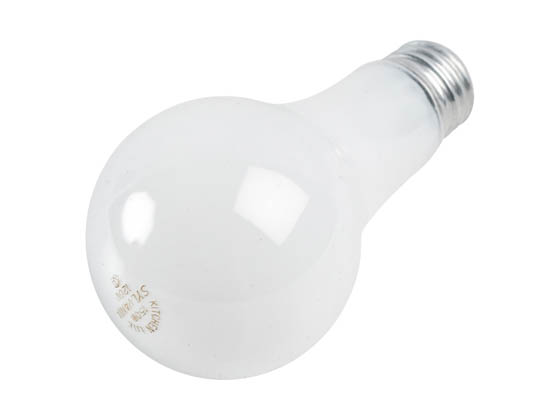 Sylvania 13101-A 150A21/W/RP (Safety) Safety Coated 150W, 120V Soft White Incandescent Bulb, E26 Base. WARNING: THIS BULB IS NOT TO BE USED NEAR LIVE BIRDS.