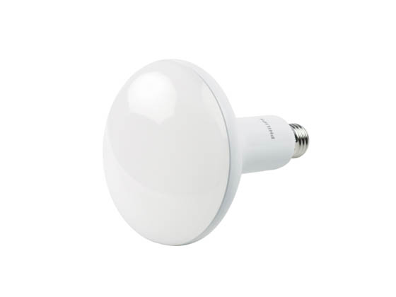 Philips Lighting 457010-2 8.8BR40/PER/927-22/P/E26/WG Philips Dimmable 8.8W Warm Glow 2700K to 2200K 90 CRI BR40 LED Bulb, Title 20 Compliant, Enclosed Fixture Rated