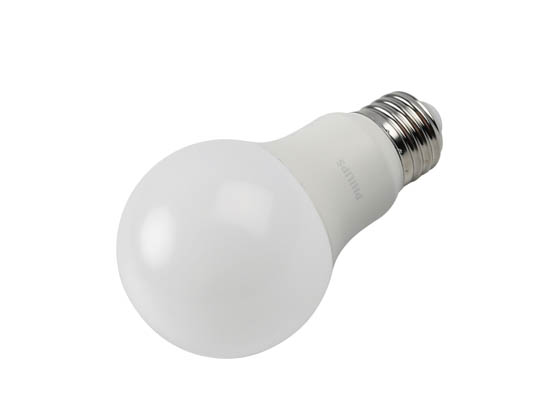 Philips Lighting 550459 8.8A19/PER/950/P/E26/DIM 6/1FB T20 Philips Dimmable 8.8W 90 CRI 5000K A19 LED Bulb, Enclosed Fixture Rated, Title 20 Compliant