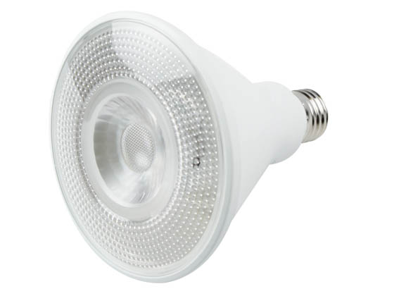 TCP L100P38N25UNV40KNFL Non-Dimmable 12.5W 120-277V 4000K 25° PAR38 LED Bulb, Wet and Enclosed Fixture Rated