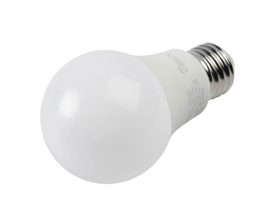 MaxLite 14099392-8 E6A19DLED30/G8 Maxlite Dimmable 6W 3000K A19 LED Bulb, Enclosed Rated
