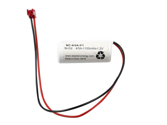 Value Brand NC-4/5A-P1 1.2 Volt 1100 mAh Ni-Cad Battery, Single A Cell