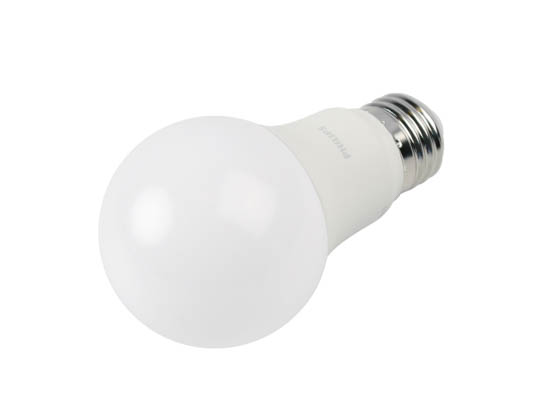 Philips Lighting 550434 8.8A19/PER/927/P/E26/DIM Philips Dimmable 8.8W 2700K A19 LED Bulb, 90 CRI, Title 20 Compliant, Enclosed Fixture Rated