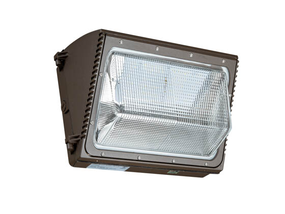 Energetic Lighting 70022 E2WPA60L-750 200 Watt Equivalent, 58 Watt Forward Throw LED Wallpack Fixture, 5000K With Photocell