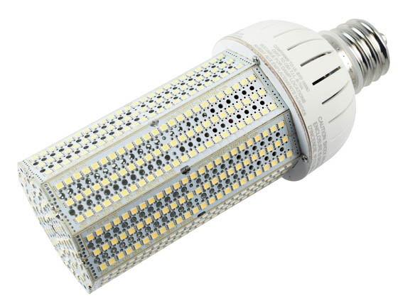 Olympia Lighting CL-65W8H-40K-E39 250 Watt Equivalent, 65 Watt 4000K 208-480V LED Corn Bulb, Ballast Bypass
