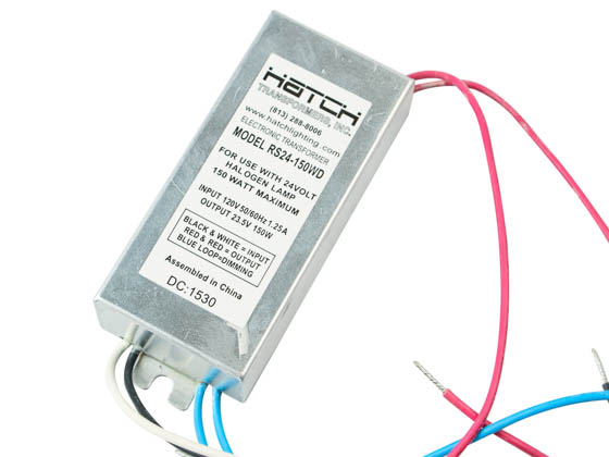 Hatch Transformers RS24-150WD Hatch 120V Step Down To 24V Dimmable Transformer 150W
