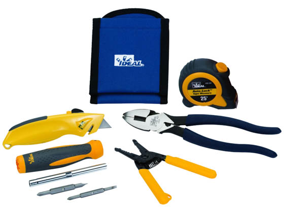 Ideal Industries 35-794 Ideal 6 Piece Electricians Hip Kit Set