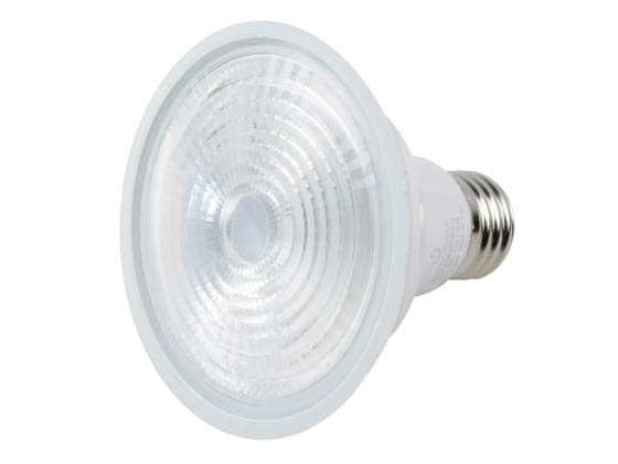 Green Creative 34909 11PAR30SNDIM/930SP15 Dimmable 11W 90 CRI 3000K 15° PAR30S LED Bulb, Title 20 Compliant, Enclosed Fixture Rated