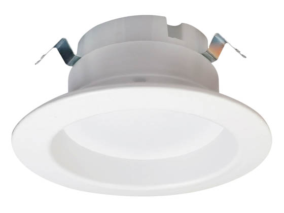 "Halco Lighting 99736 DL4FR9/950/LED3 Halco Dimmable 9W 5000K 90 CRI 4"" Recessed LED Downlight, JA8 Compliant, Wet Rated, E26 Adapter Included"