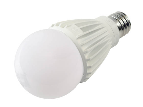 Green Creative 35052 34HID/830/277V/EX39 Non-Dimmable 34W 120-277V 3000K A-23 LED Bulb, Enclosed Fixture Rated, E39 Base